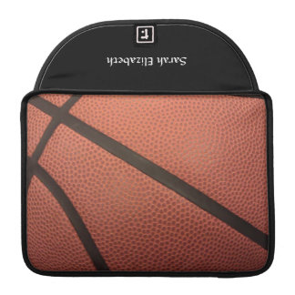 Basketball Sports Image Sleeve For MacBooks