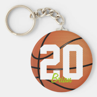 Basketball Sports Keychain