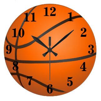 Basketball Sports Large Clock