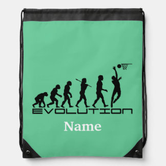 Basketball Sports Personalized Drawstring Bag