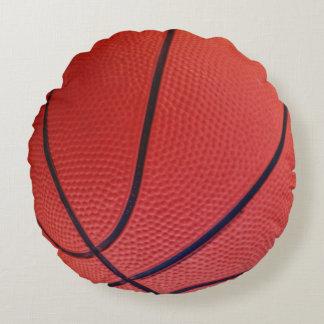 Basketball Sports Team Round Cushion