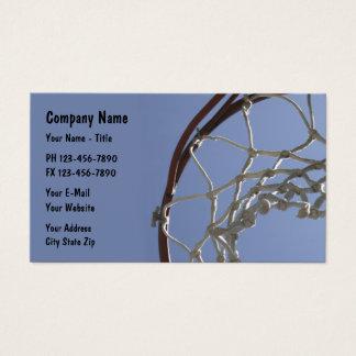 Basketball Sports Theme Business Card