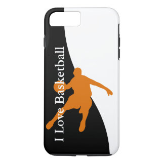Basketball Sports Theme iPhone 7 Plus Case