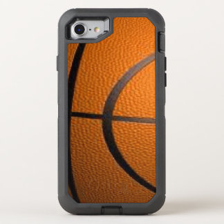 Basketball Sports Theme OtterBox Defender iPhone 8/7 Case