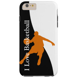 Basketball Sports Theme Tough iPhone 6 Plus Case