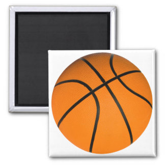 Basketball Square Magnet