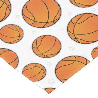 Basketball Star Pattern Short Table Runner