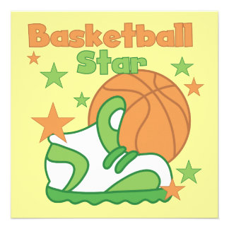 Basketball Star Shoe T-shirts and Gifts Announcements