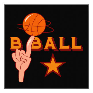 Basketball Star T-shirts and Gifts Custom Invites