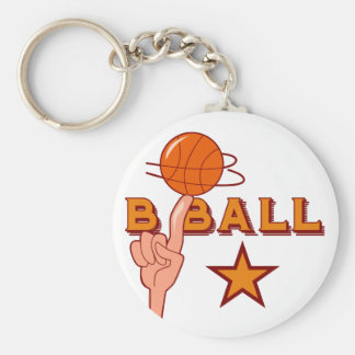 Basketball Star T-shirts and Gifts Key Ring
