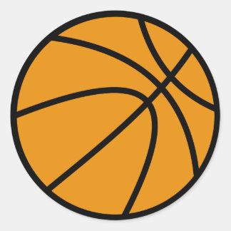 Basketball Sticker (Round)