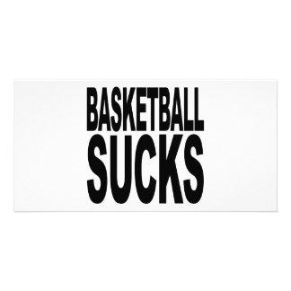 Basketball Sucks Personalized Photo Card