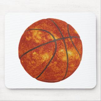 Basketball Sun Mouse Pad