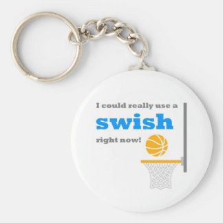 Basketball Swish Key Chain