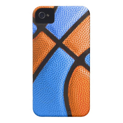 basketball team colors orange and blue case iPhone 4 Case-Mate cases