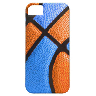 basketball team colors orange and blue case barely there iPhone 5 case