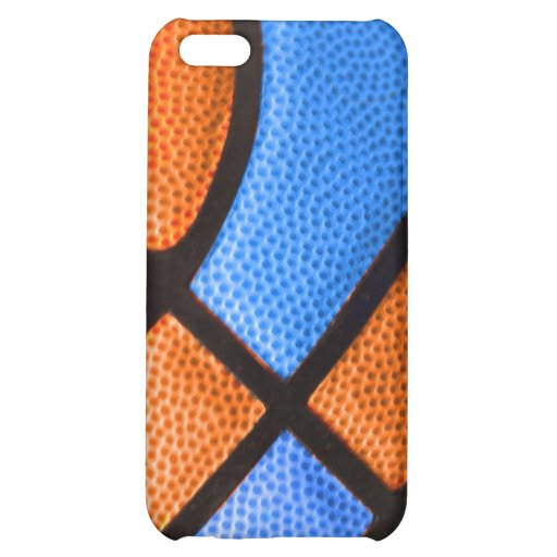 basketball team colors orange and blue case iPhone 5C covers