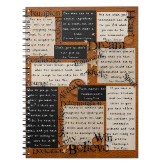 Basketball Team Inspiration Notebook