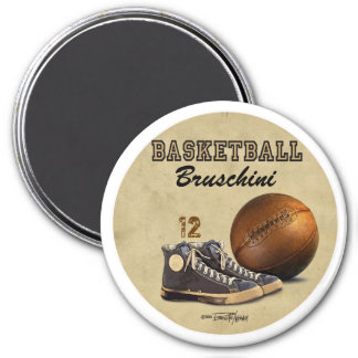 Basketball - Team sport Refrigerator Magnet