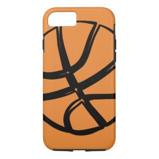 Basketball Teen Girls College Sport ball Orange iPhone 8/7 Case