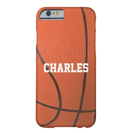 Basketball Texture Personalised Case