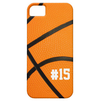 Basketball Texture Personalized # iPhone5 case