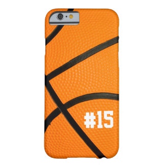 Basketball Texture Personalized # iPhone 6 case