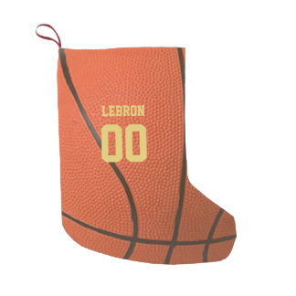 Basketball Texture Personalized Stocking