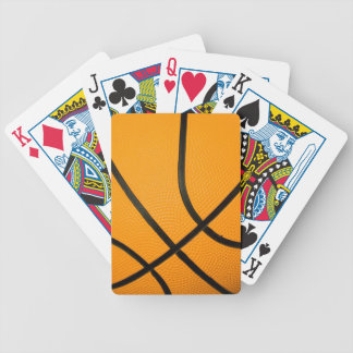Basketball Texture Playing Cards