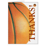 Basketball-Thanks! Stationery Note Card