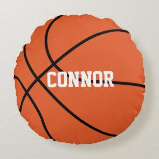 Basketball Themed Round Cushion