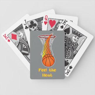 Basketball through Net: Feel the Heat Deck Of Cards