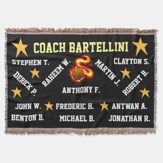 Basketball Throw Blanket
