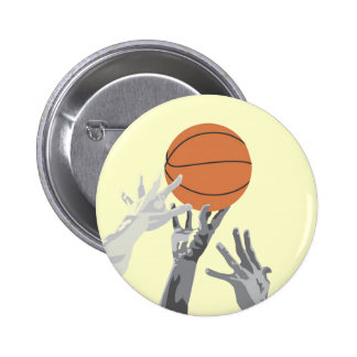Basketball Tip Off T-shirts and Gifts Buttons