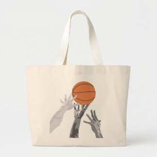 Basketball Tip Off T-shirts and Gifts Canvas Bag