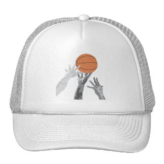 Basketball Tip Off T-shirts and Gifts Mesh Hats