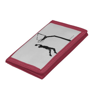 Basketball Trifold Wallets