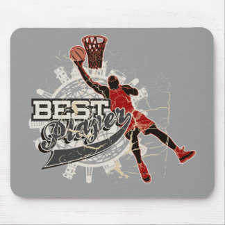 Basketball Tshirts and Gifts Mouse Mat