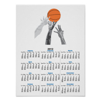 basketball up for grabs vector design poster