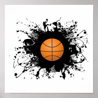 Basketball Urban Style Poster