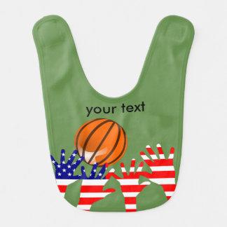 Basketball USA Bib