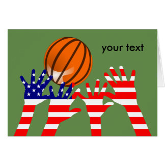 Basketball USA Card