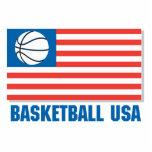 basketball usa flag photo cut outs