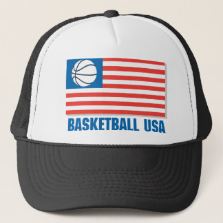 Basketball USA Trucker Hat