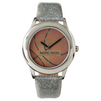 BASKETBALL WATCH, Personalized Basketball Gifts Watch