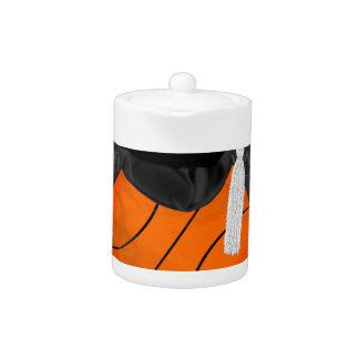Basketball Wearing Graduation Cap, Basketball Word
