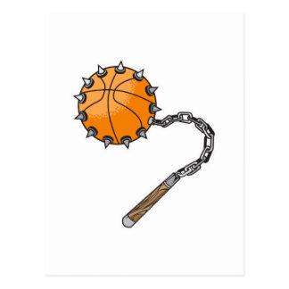 basketball whip mace postcard