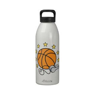 Basketball & Whistle Reusable Water Bottles