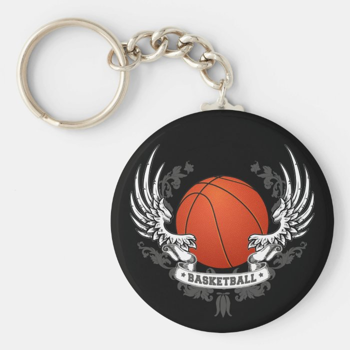 Basketball Wings Keychain