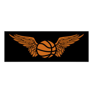 basketball wings posters